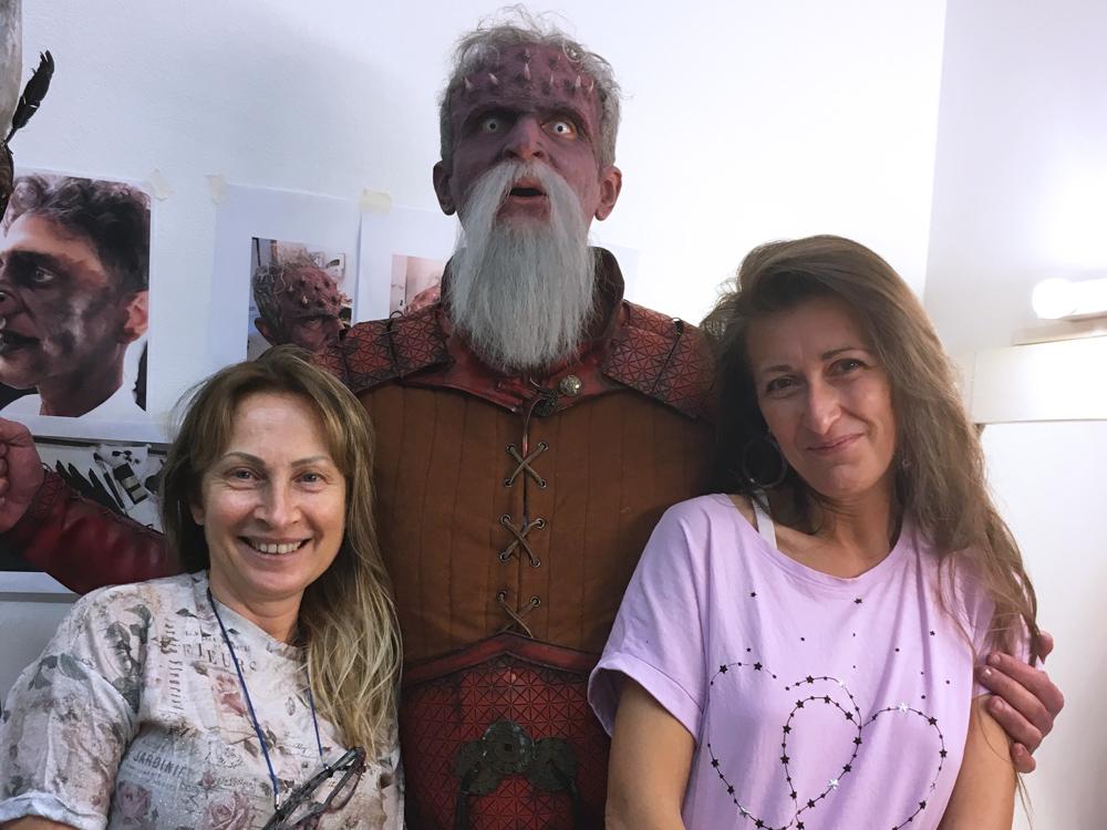 fondatrici scuola di trucco IAM bologna